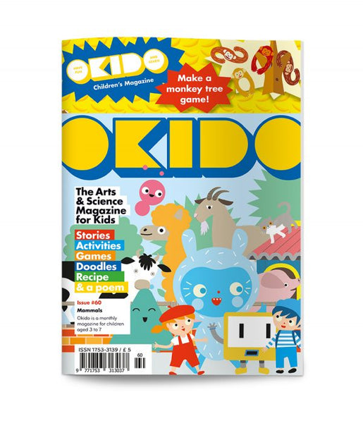 OKIDO Issue No.60 - Mammals