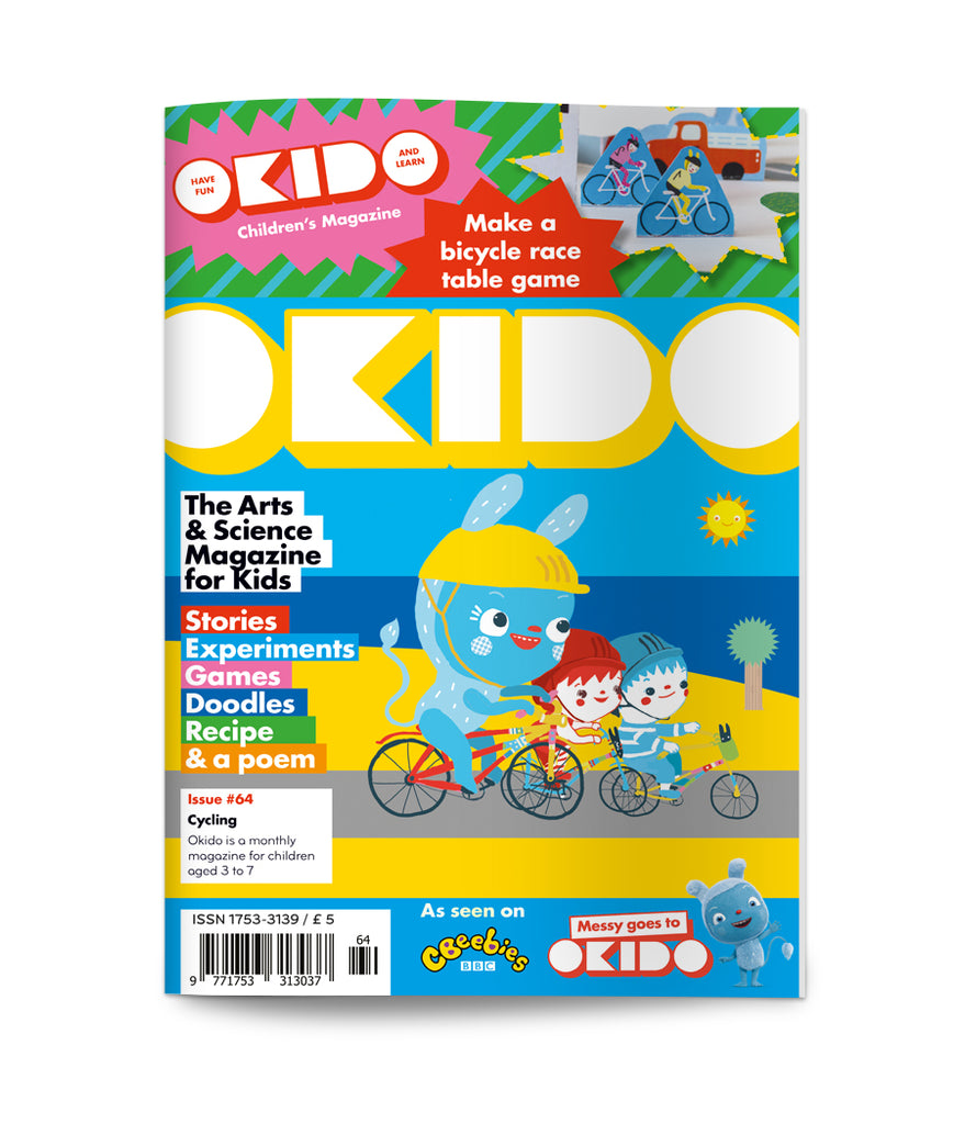 OKIDO Issue No.64 - Cycling