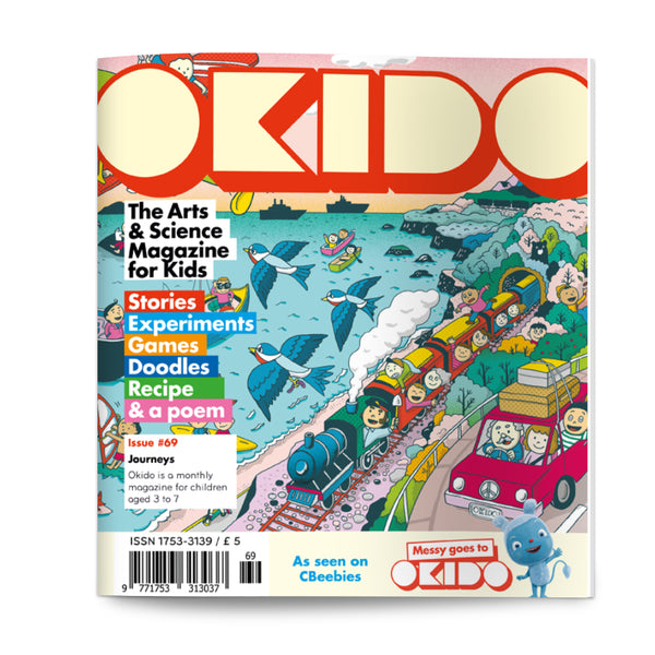 OKIDO Issue No.69 - Journeys