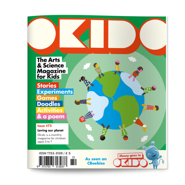 OKIDO Issue No.72 - Loving Our Planet