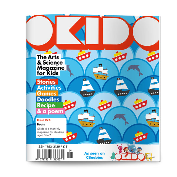 OKIDO Issue No.74 - Boats