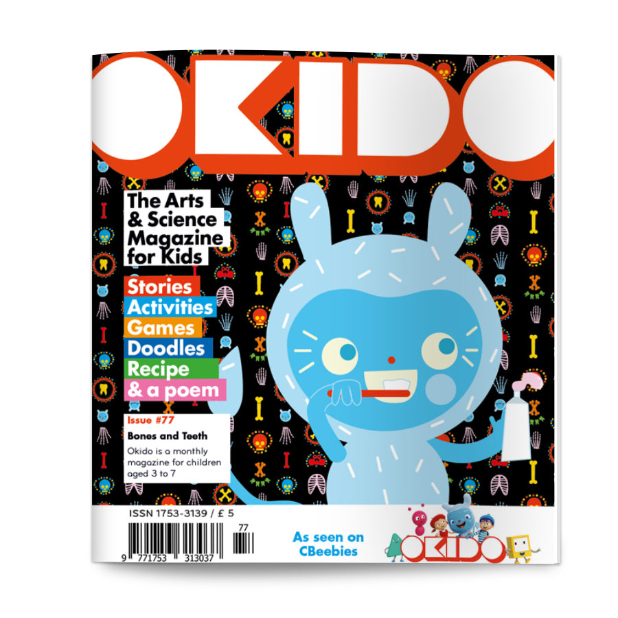 OKIDO Issue No.77 - Bones and Teeth