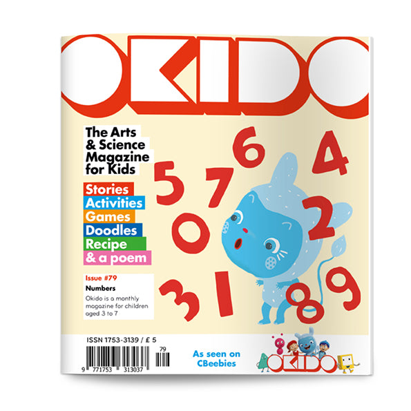 OKIDO Issue No.79 - Numbers