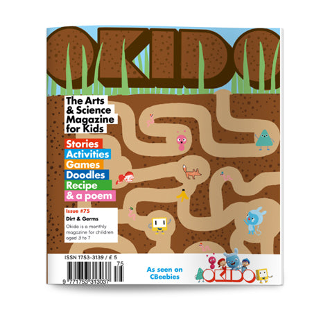 OKIDO Issue No.75 - Dirt and Germs