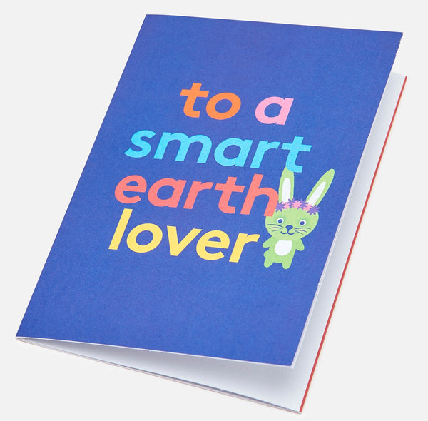 Earth Lover Colour-In Greeting Card