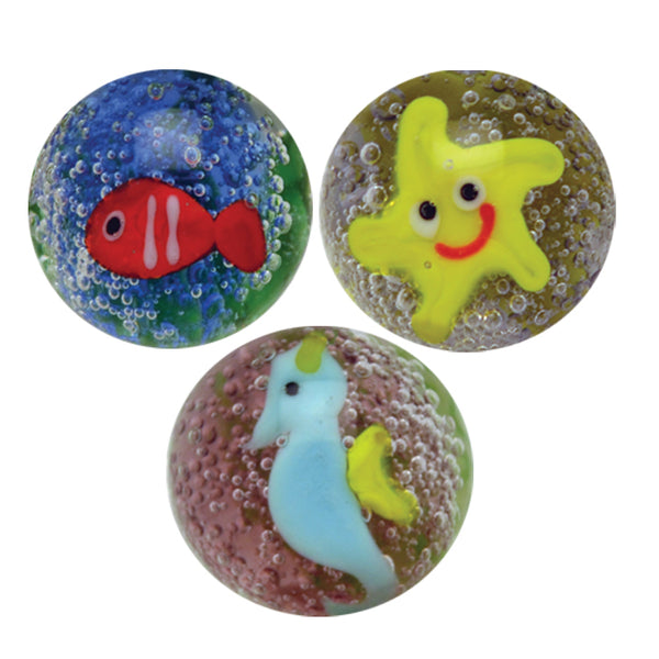 Under The Sea Handmade Marbles