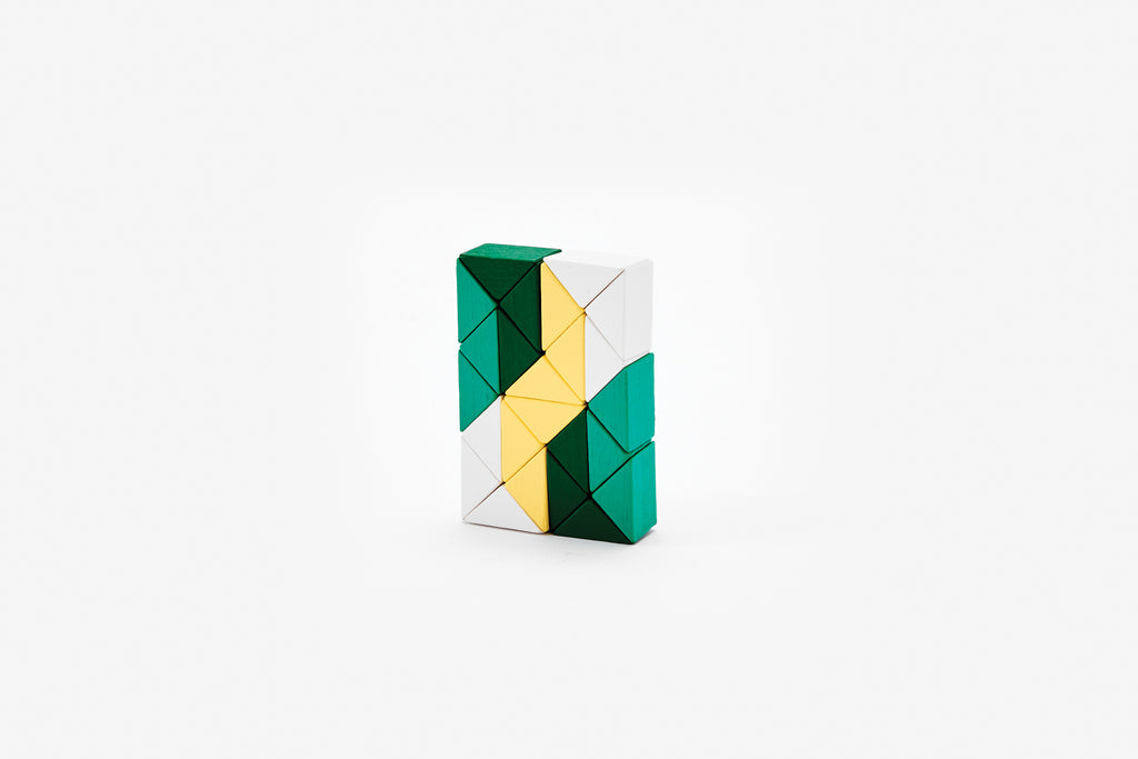 Snake Blocks - Small - Yellow/Green
