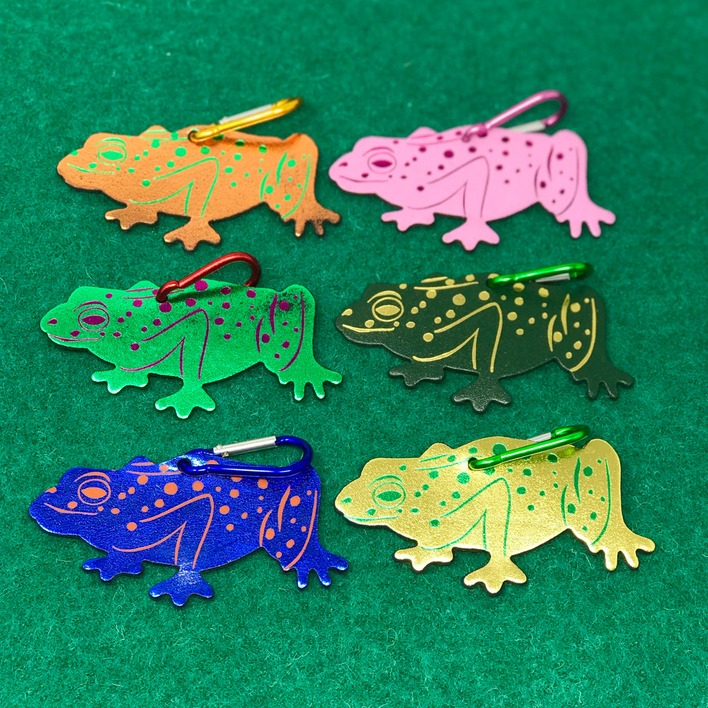 Spotty Frog Bag Tag