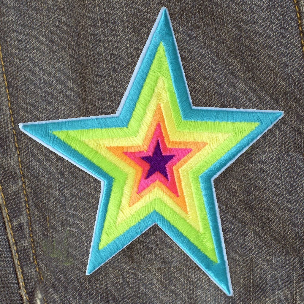 Rainbow Star - Patch