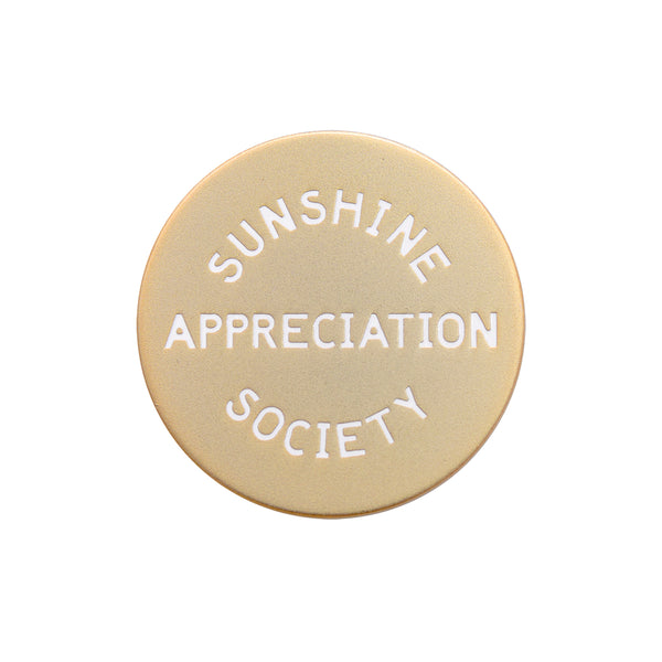 Sunshine Appreciation Society - Enamel Pin