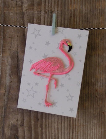 Flamingo Iron-on Patch