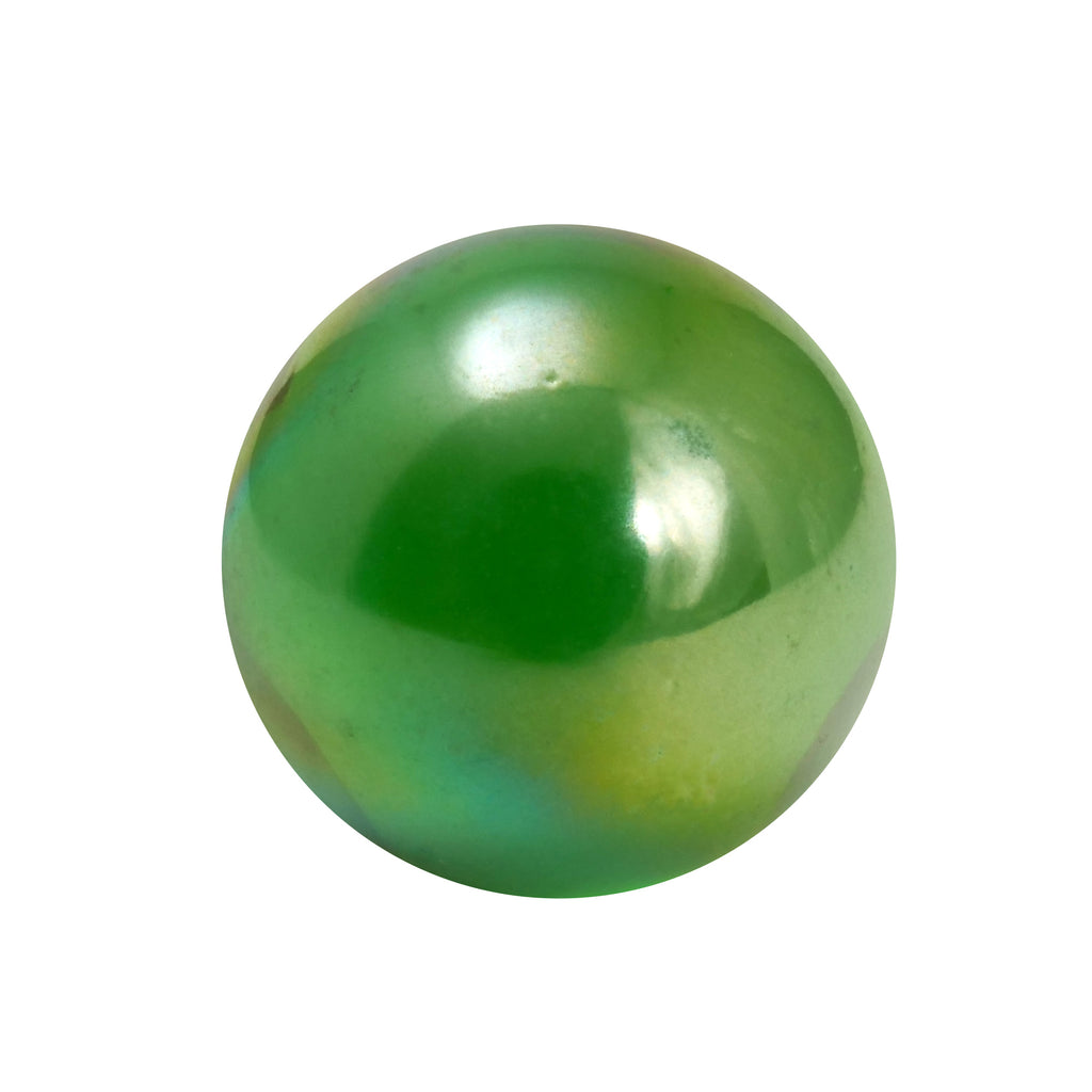 Green Lustre Marbles - 16mm