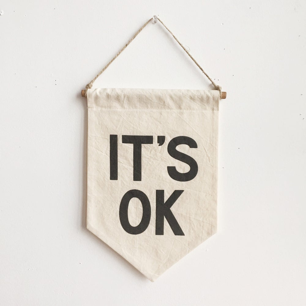 IT'S OK Banner - Small