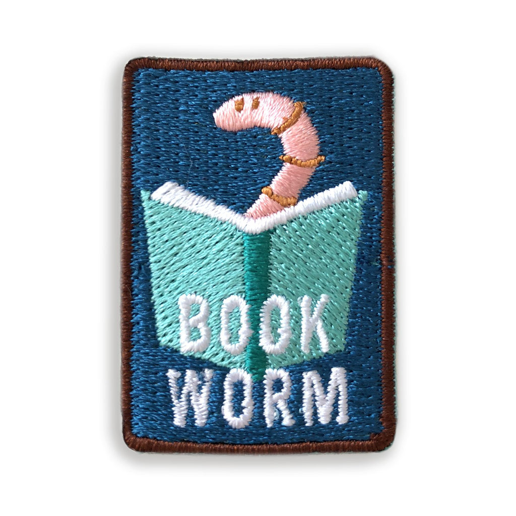 Book Worm Merit Patch