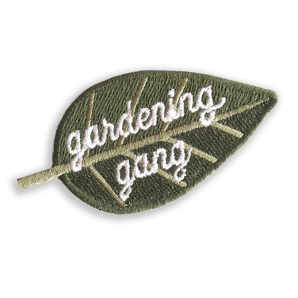 Gardening Gang Merit Patch