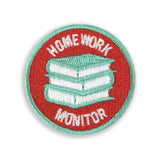 Homework Monitor Merit Patch