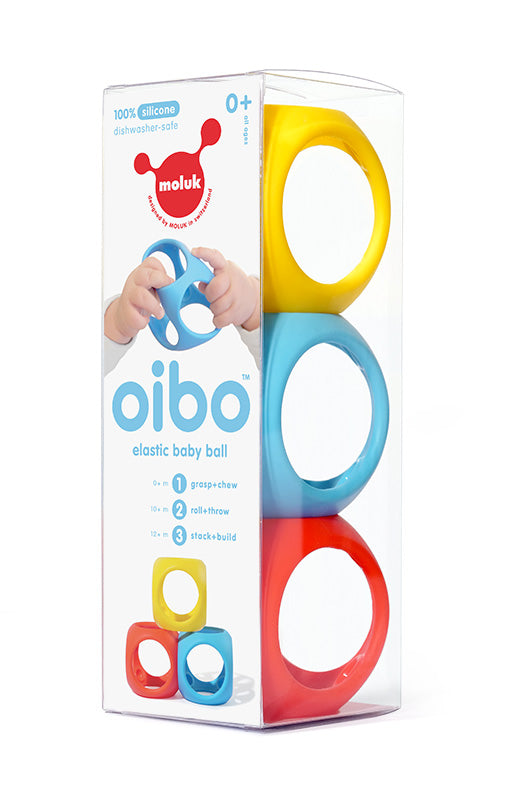 Oibo - Squashable Stackable Chewable Blocks