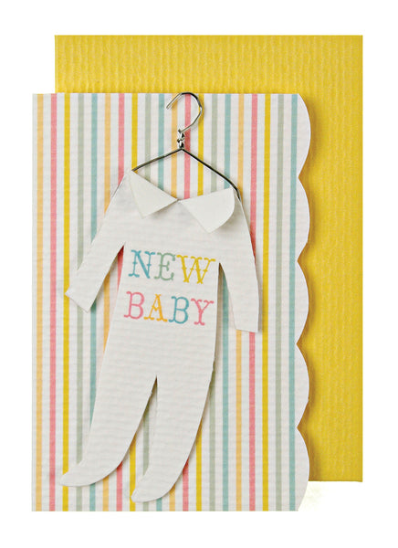 'New Baby' Mini Card
