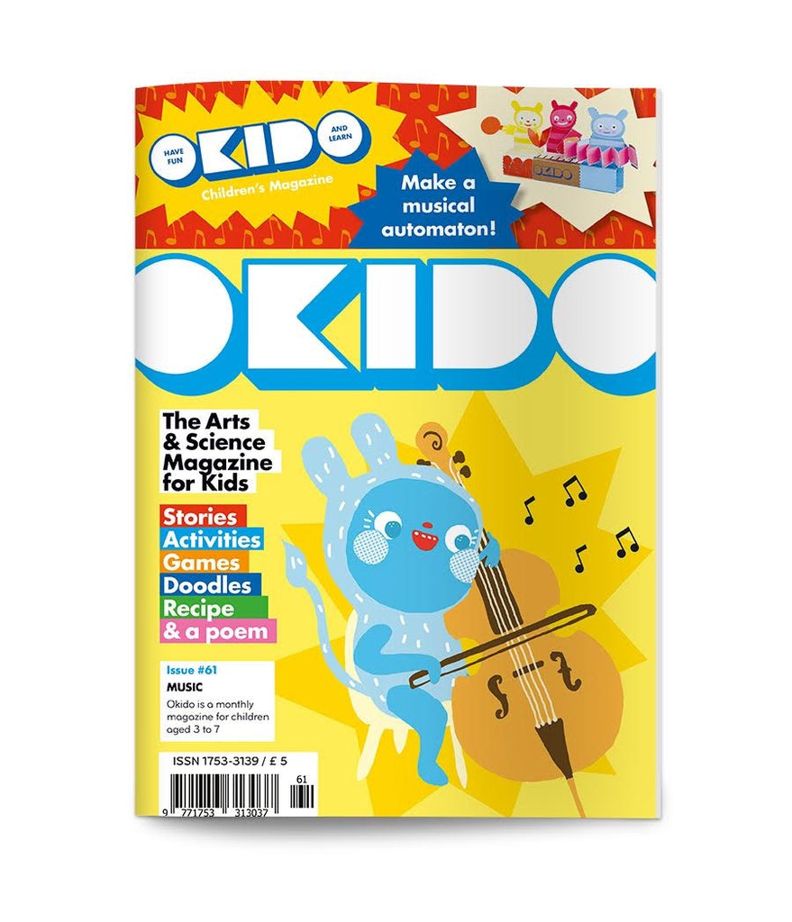 OKIDO Issue No.61 - Music