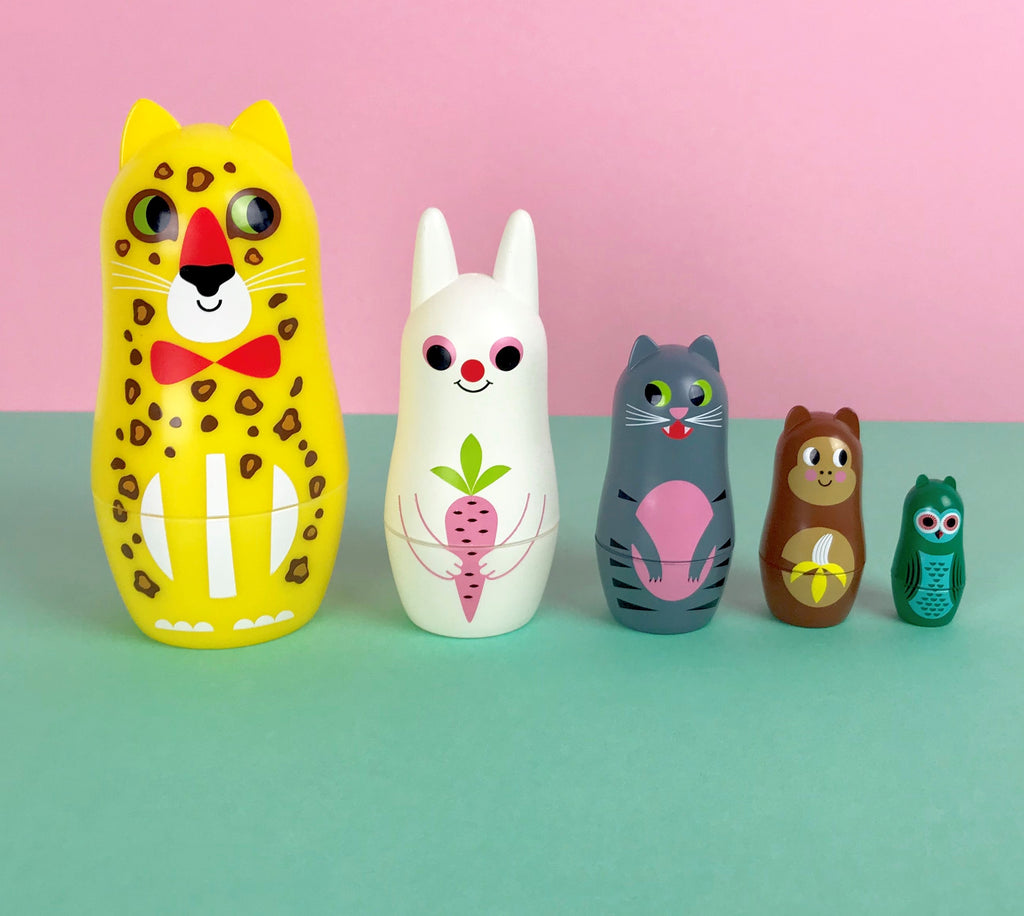 Nesting Dolls - Animals No.3