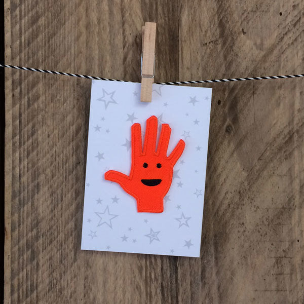 High Five Iron-on Patch