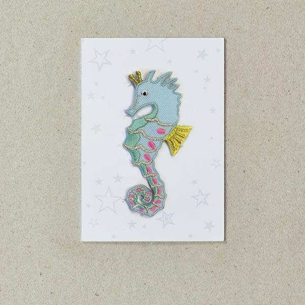 Seahorse Iron-on Patch