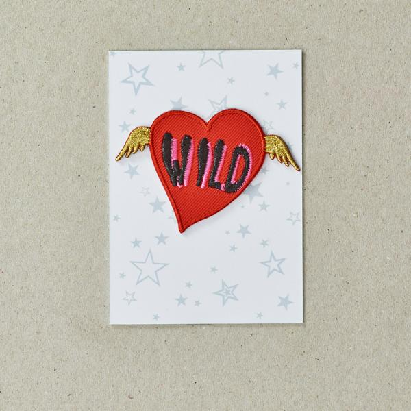 Wild Heart Iron-on Patch