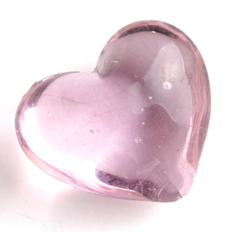 Pink Glass Hearts