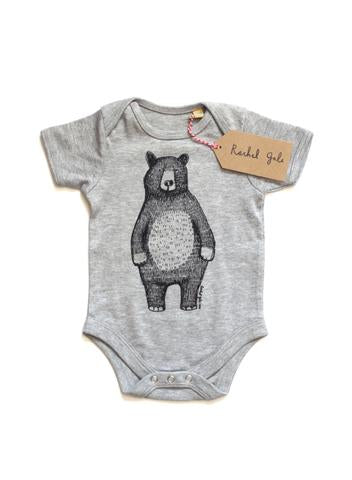 Mr Bear Vest - Grey