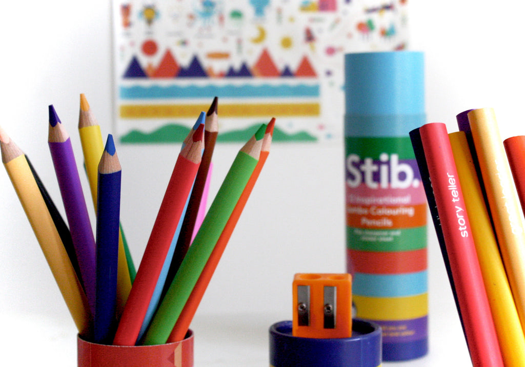 Stib - Inspirational Colouring Pencils
