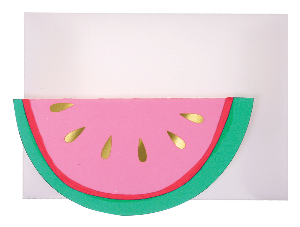 Watermelon Mini Card