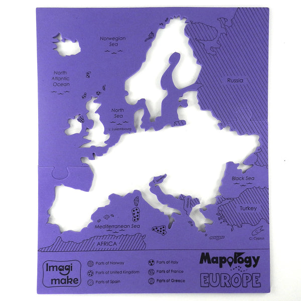 Mapology: Europe Map Puzzle