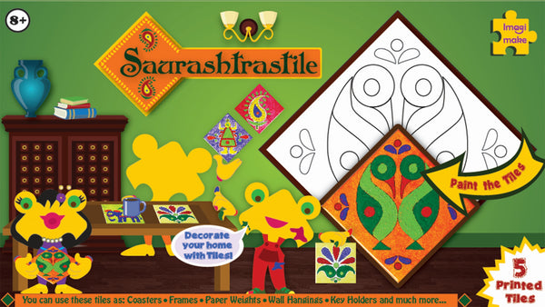 Saurashtrastile Folk Art from Gujarat