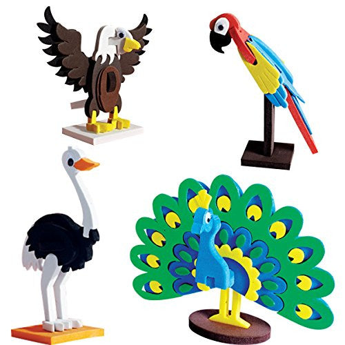 Worldwide Birds-3D model making toy set