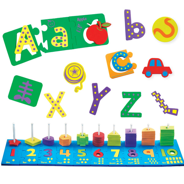 Combo - Alpha Puzzle & Junior Abacus