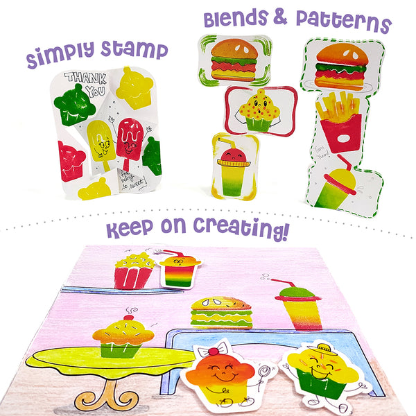 Stamp Art for kids