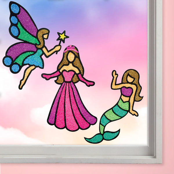 Window Art - Princess Pack of 6 - Per Piece Rs 248