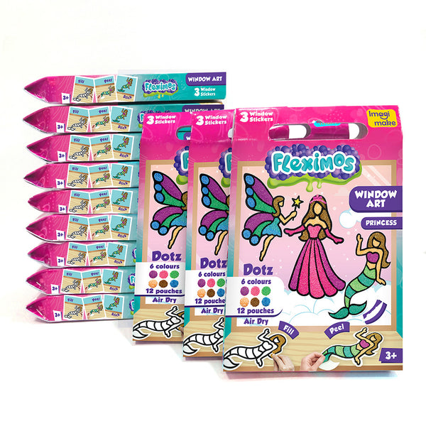 Window Art - Princess Pack of 12