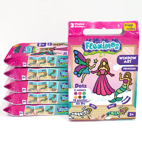 Window Art - Princess Pack of 6