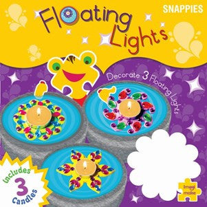 Floating Lights : Make and decorate floating candles