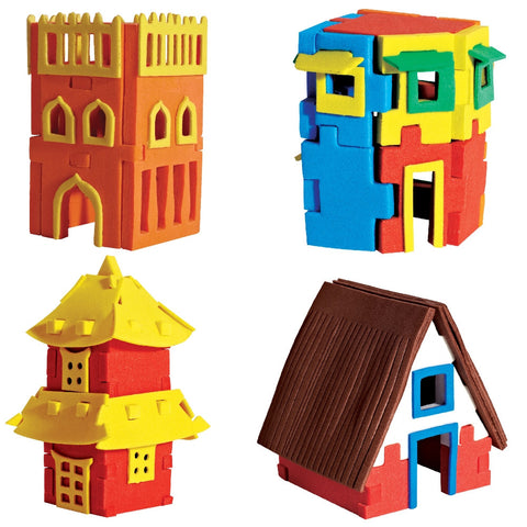 Worldwide houses-3D model making toy set