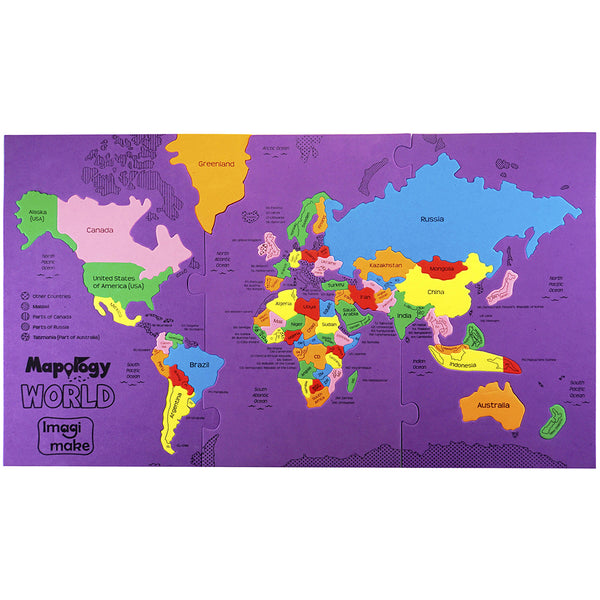 Mapology: World Pack of 12