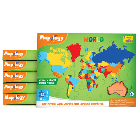 Mapology: World Pack of 6