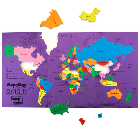 Mapology: World