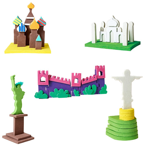 Monuments-3D Model making set