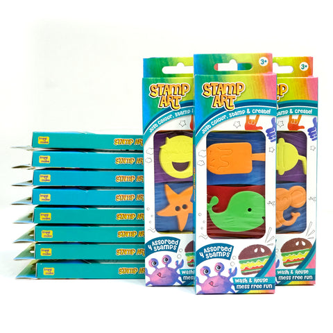 Stamp Art - Assorted - Pack of 12 - Per Piece Rs 89