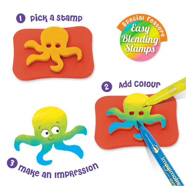 Snappies Stamp Art - Assorted Pack of 3