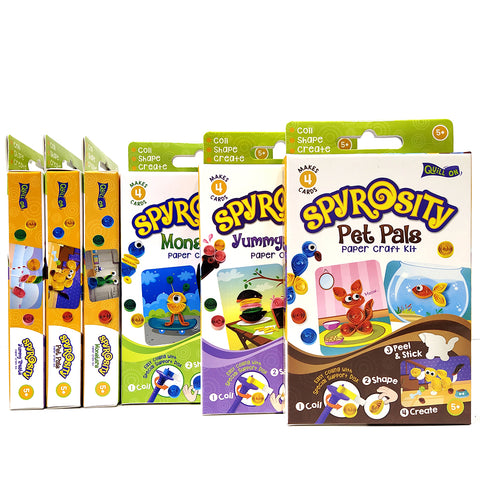 Spyrosity - Assorted - Pack of 6