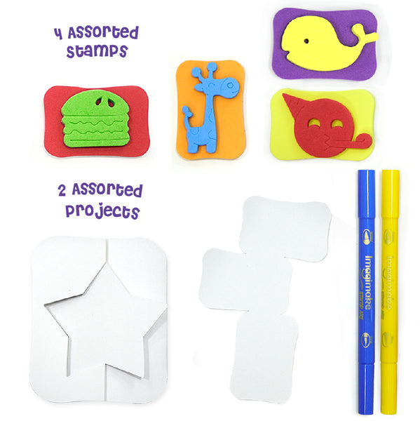 Snappies Stamp Art - Assorted Pack of 12