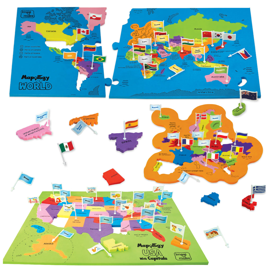 Mapology combo india and world with capitals and flags of the mapology combo map puzzle of india and world with capitals and flags of countries gumiabroncs Images